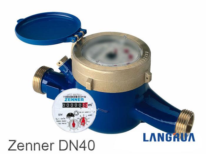 đồng hồ đo nước zenner dn40