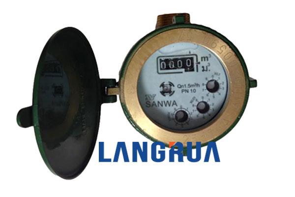 đồng hồ nước sanwa thái lan dn15