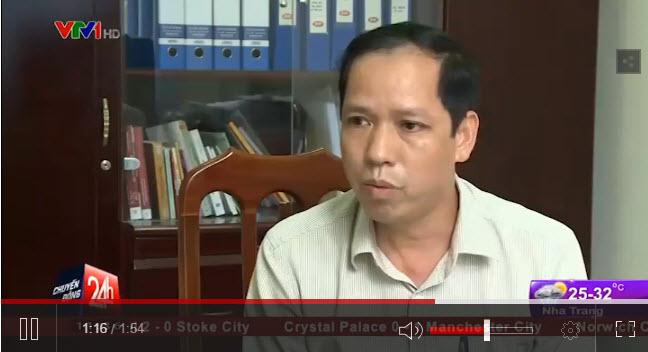 Ông Lê Quang Lợi - Phó chủ tịch phường Dịch Vọng Hậu, Cầu Giấy, Hà Nội