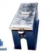 Hộp đồng hồ nước thân nhựa nắp inox