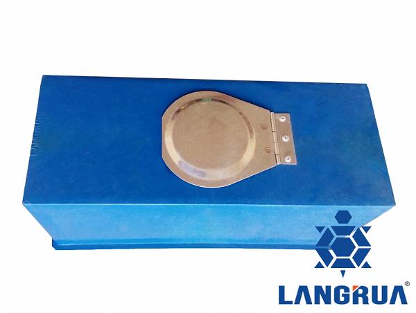 hộp bảo vệ đồng hồ nước thân nhựa nắp inox 1 nắp