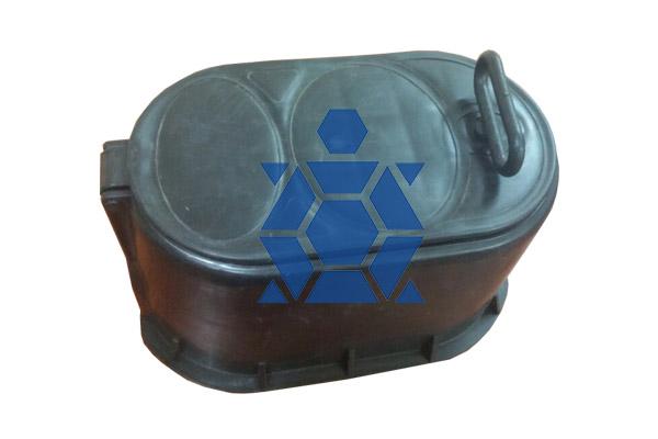 hộp bảo vệ công tơ nước nhựa đen hdpe