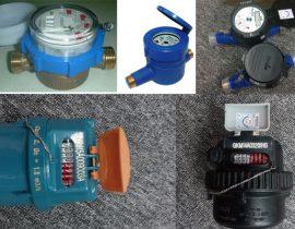 tổng hợp 3 dòng đồng hồ nước bán chạy nhất